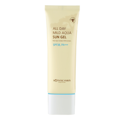 BOTANIC FARM All Day Mild Aqua Sun Gel [SPF 38, PA+++], Facial Moisturizer, BOTANIC FARM, Luvi Beauty