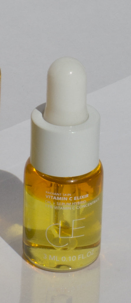 CLE Vitamin C Elixir (Travel Size), Facial Serum, CLE, Luvi Beauty & Wellness