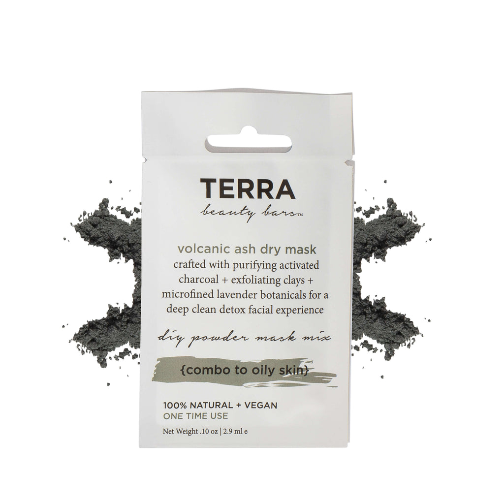 TERRA BEAUTY BARS Volcanic Ash Dry Mask, Face Mask, TERRA BEAUTY BARS, Luvi Beauty & Wellness