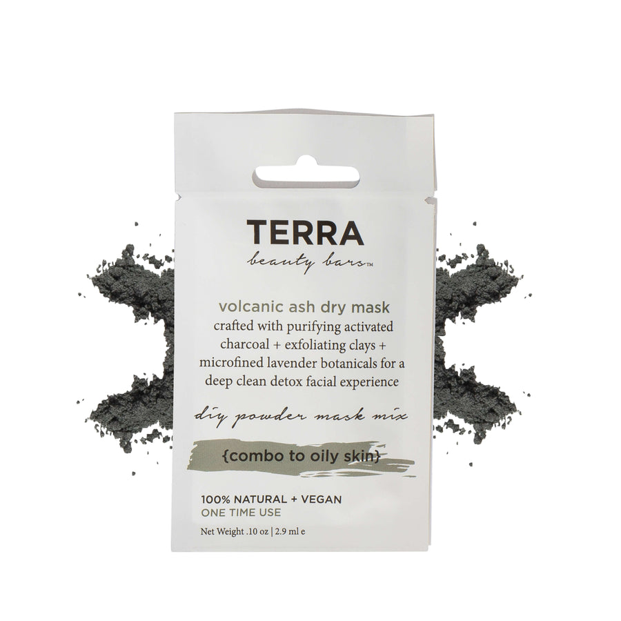 TERRA BEAUTY BARS Volcanic Ash Dry Mask, Face Mask, TERRA BEAUTY BARS, Luvi Beauty