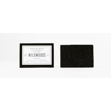 WOODLOT Soap Bar - Wildwoods Charcoal-Body Cleanser-Luvi Beauty & Wellness