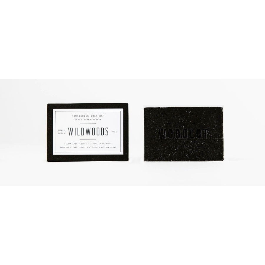 WOODLOT Soap Bar - Wildwoods Charcoal, Body Cleanser, WOODLOT, Luvi Beauty & Wellness