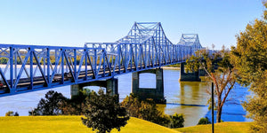 We crossed the Great Mississippi River!