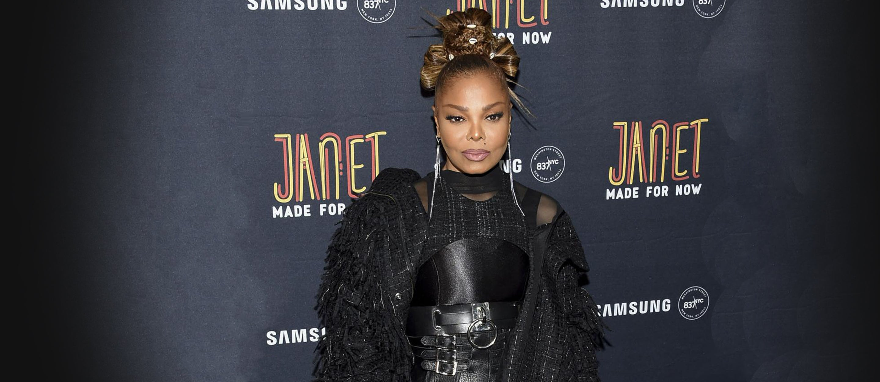 Janet Jackson at Made For Now release party
