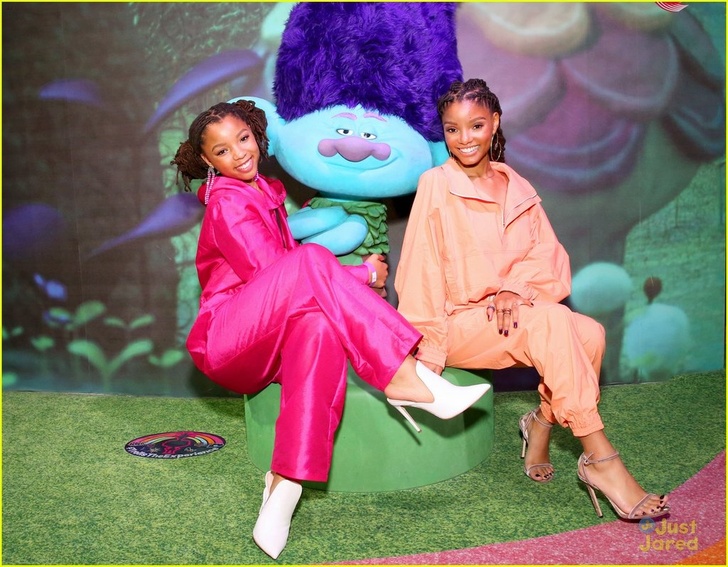 ChloexHalle for Trolls Movie Premiere