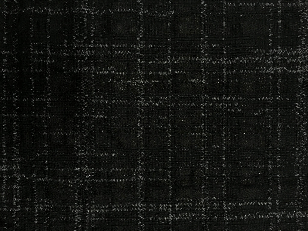 Black Zip-line Tweed