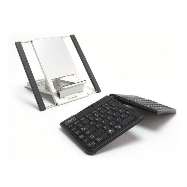 Goldtouch Go!2 Mobile Keyboard and Laptop Stand Bundle (USB)