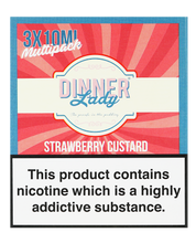 Dinner Lady Strawberry Custard 3x10ml