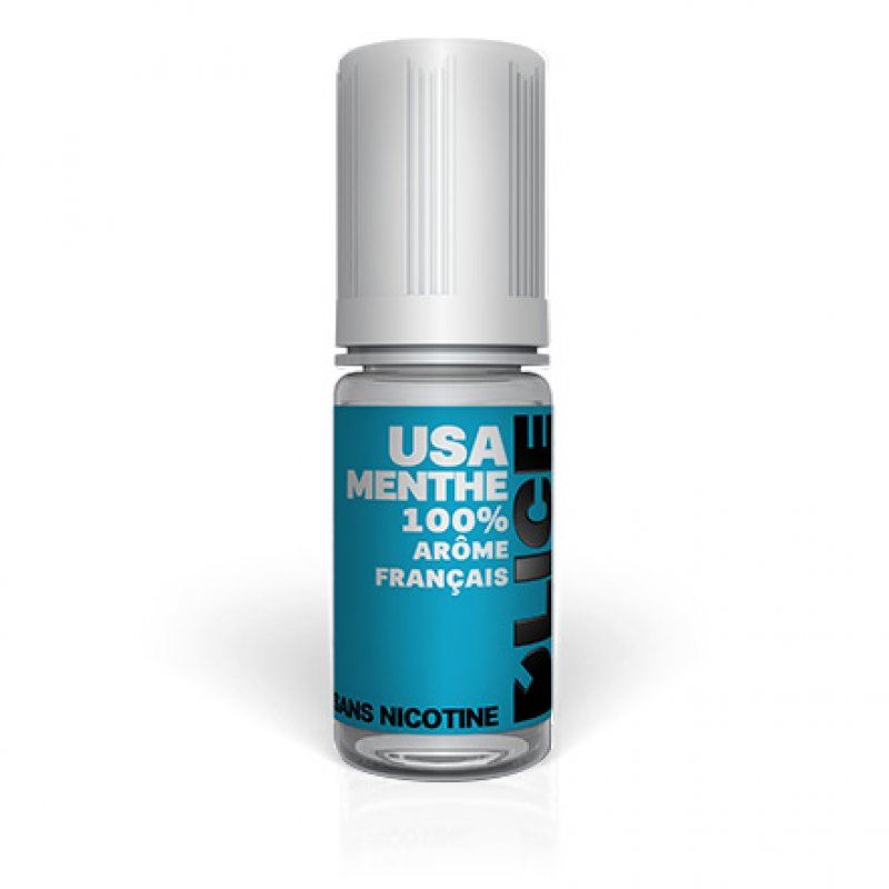 USA Tobacco Mint - USA Menthe -Dlice 70/30-Dlice e-liquid France