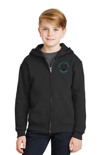 Youth Full-Zip Hooded Sweatshirt