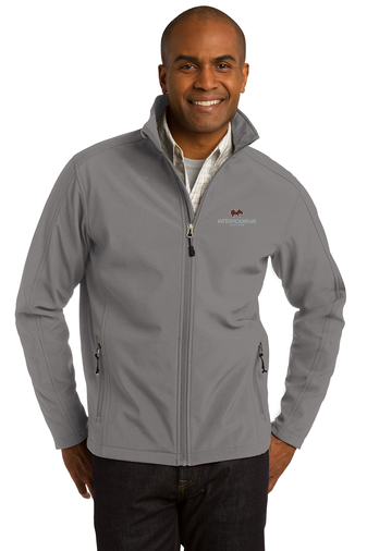 Port Authority Core Soft Shell Jacket (Deep Smoke)