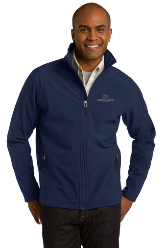 Port Authority Core Soft Shell Jacket (Navy)