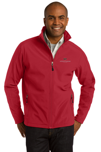 Port Authority Core Soft Shell Jacket (Rich Red)