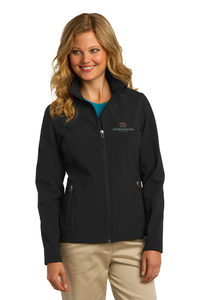Port Authority Ladies' Core Soft Shell Jacket (Black)