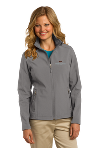Port Authority Ladies' Core Soft Shell Jacket (Deep Smoke)