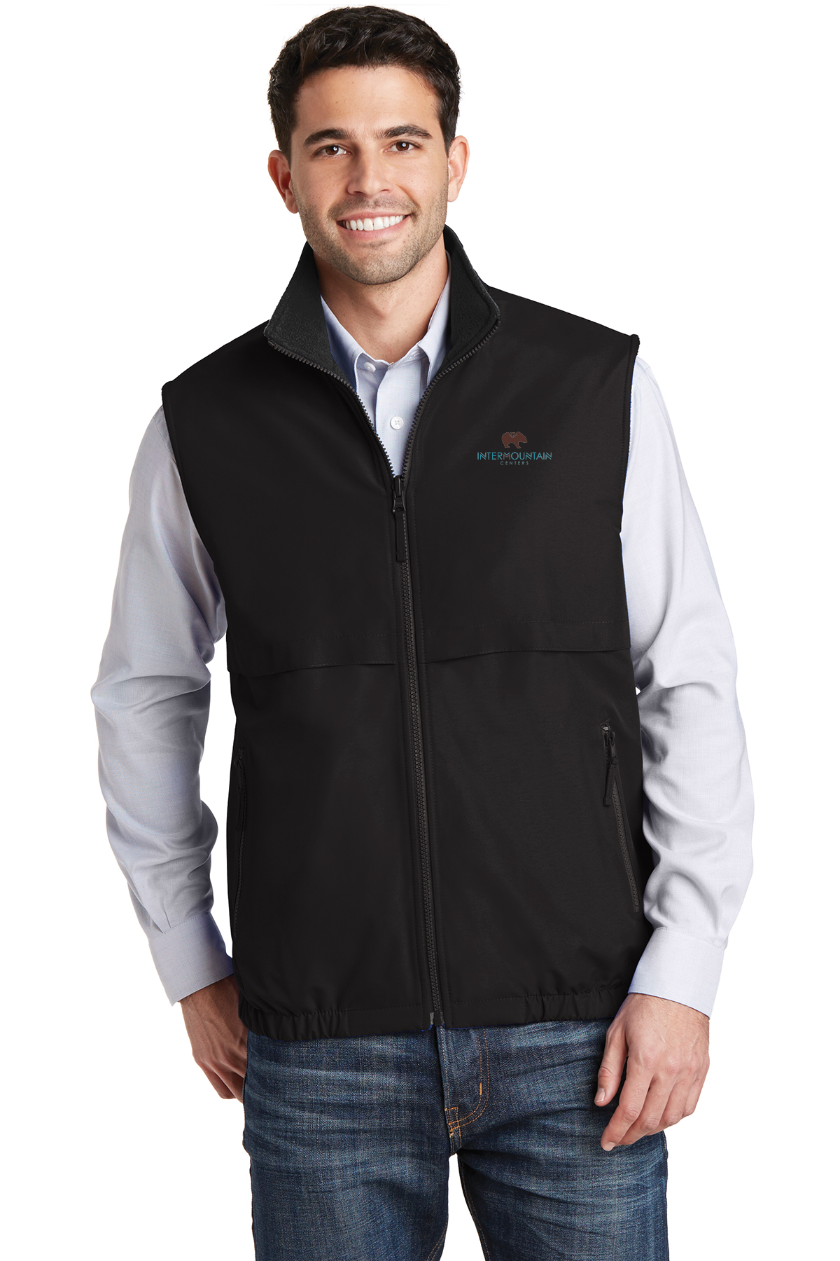 Port Authority® Reversible Charger Vest - Black