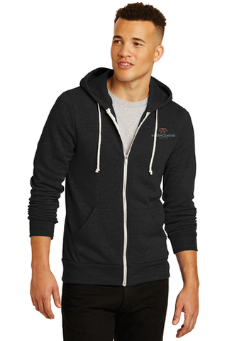 Alternative Rocky Eco™-Fleece Zip Hoodie (Black)