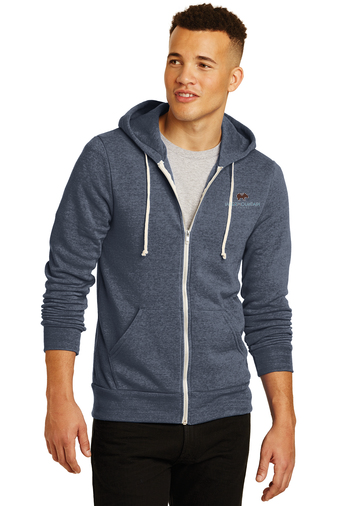 Alternative Rocky Eco™-Fleece Zip Hoodie (Navy)