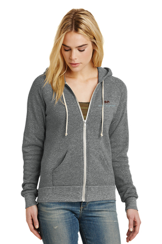 Alternative Adrian Eco™ Fleece Zip Hoodie (Grey)