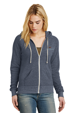 Alternative Adrian Eco™ Fleece Zip Hoodie (Navy)