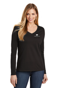 Women's District Very Important Tee Long Sleeve V-Neck