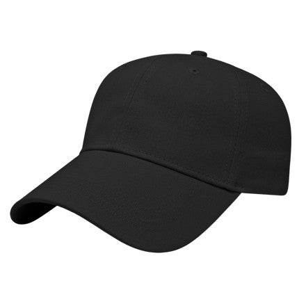 Lightweight Low Profile Cap in Black
