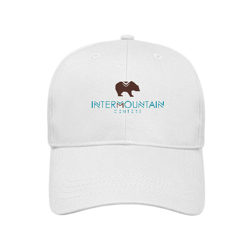 Lightweight Low Profile Cap in White