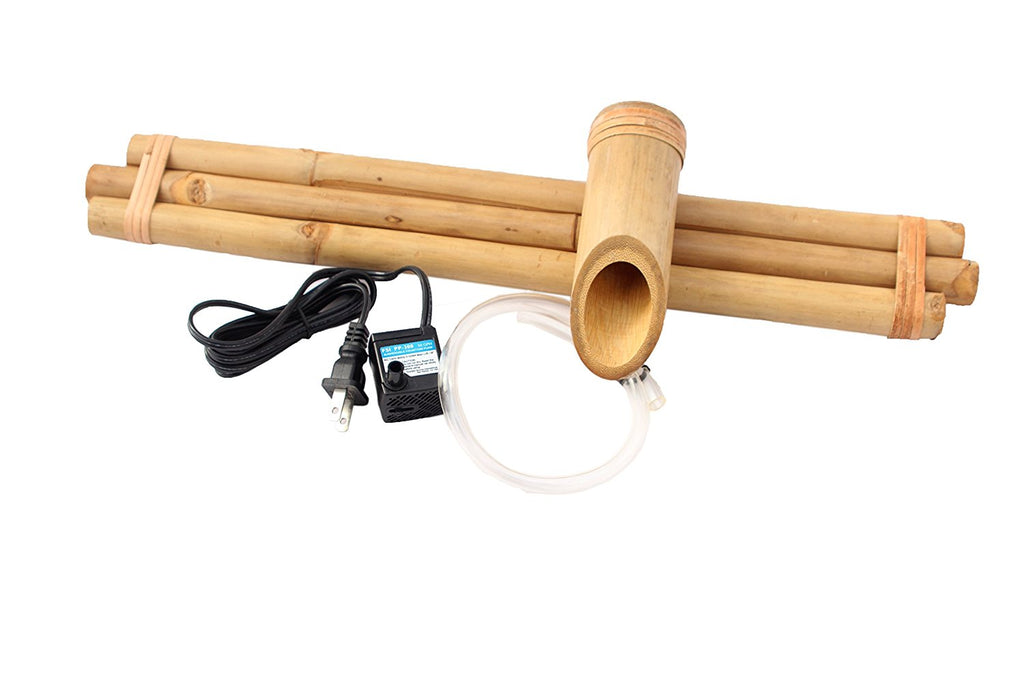 "Bamboo Accents 18"" Three Arm Spout and Pump Kit"