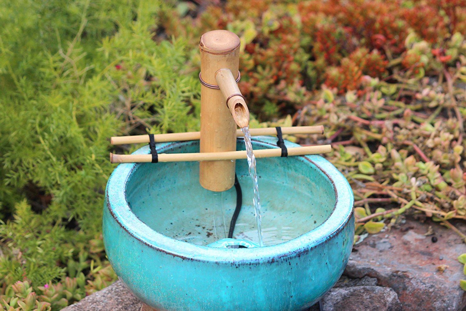 "Bamboo Accents 7"" Adjustable Spout with Branch Arms and Pump Kit"