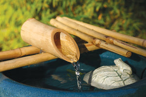 "Bamboo Accents 12"" Five Arm Fountain and Pump Kit"