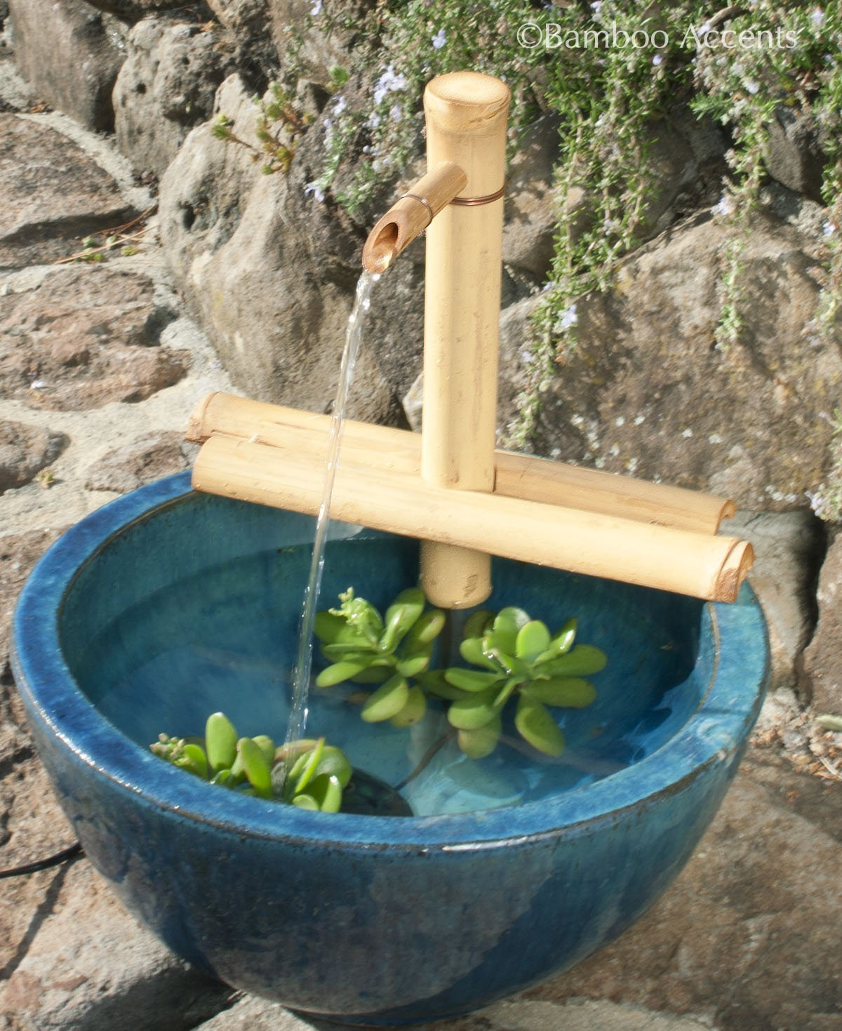 "Bamboo Accents 12"" Adjustable Spout and Pump Kit"