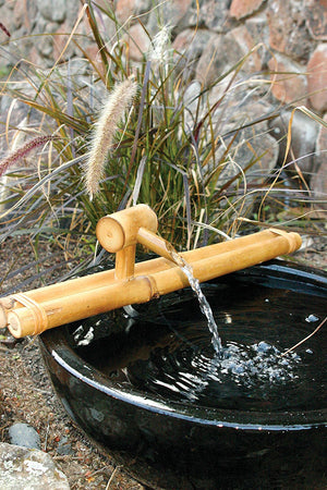 "Bamboo Accents 18"" Classic Spout and Pump Kit"