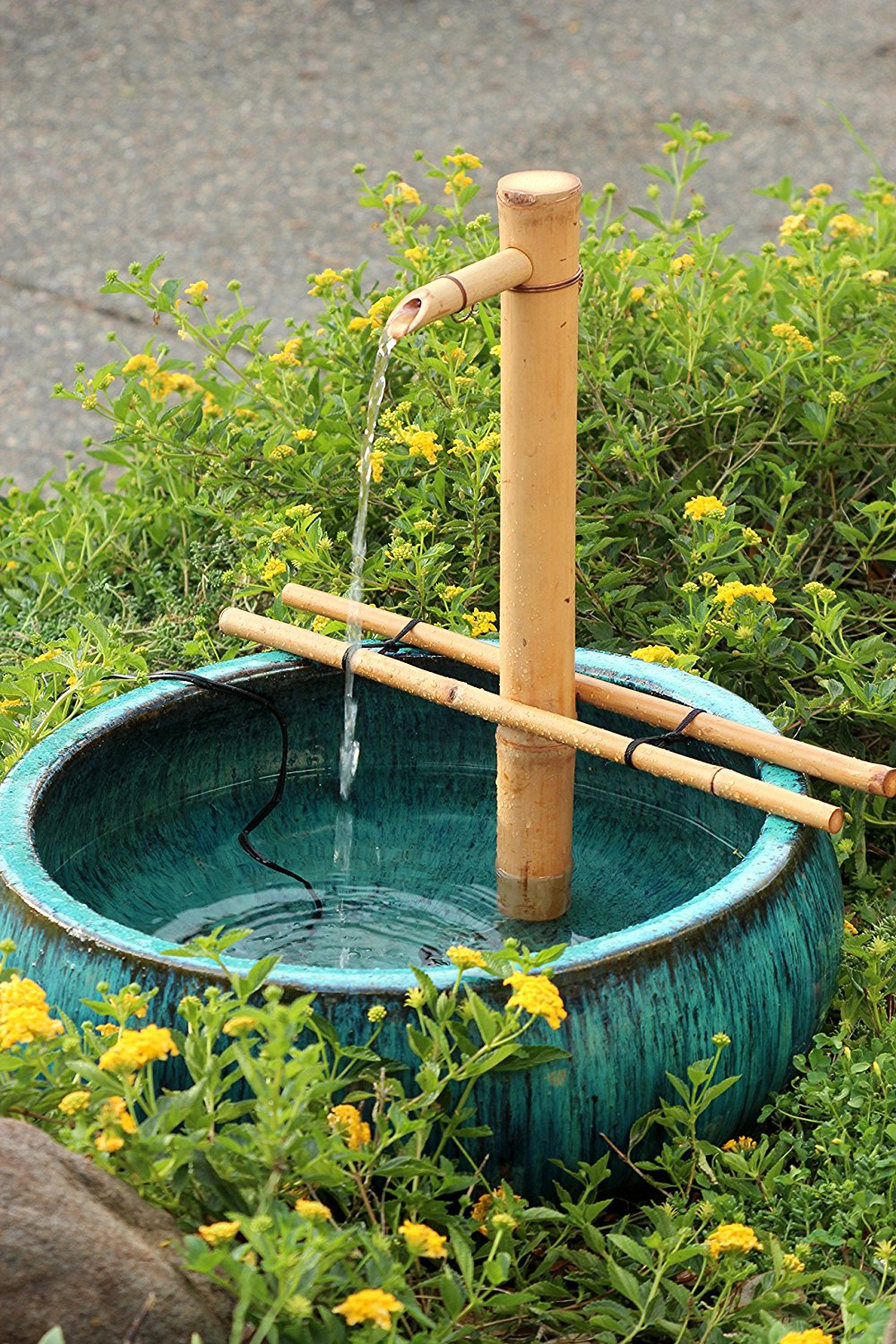 "Bamboo Accents 18"" Adjustable Spout and Pump Kit"
