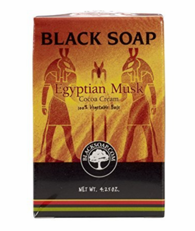Egyptian Musk Shea Butter Black Soap