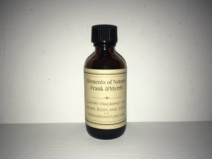 Live Natural Signature Frank and Myrrh Body Oil