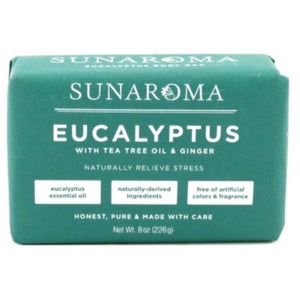 Sunaroma Eucalyptus, Tea Tree, and Ginger Soap