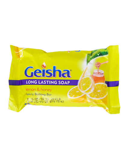 Geisha Bar Soap with Lemon and Honey