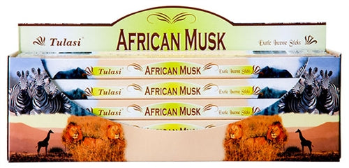Tulasi African Musk Incense Packs