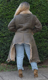 Ladies Sheepskin Jacket with Craft Bottom Style #1040