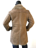 Sheepskin Leather Trench Coat With Toscana Fur Style #7400 - Jakewood Shearlin Leather Mouton Fur Bomber Aviator Parka Coat Jacket Sheepskin All size Brooklyn New York manufacturer