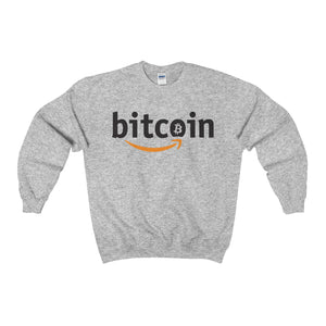 Bitcoin X Amazon // Crewneck Sweatshirt