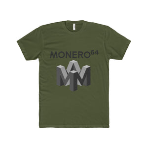 Monero X Nintendo 64 Alternate // Premium Fitted Tee