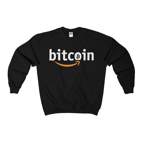 Bitcoin X Amazon Alternate // Crewneck Sweatshirt