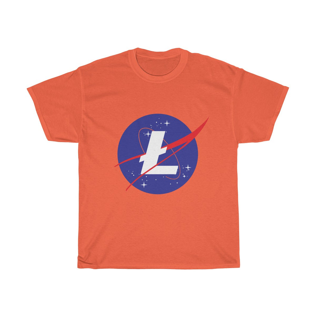 Litecoin NASA // Heavy Cotton Tee