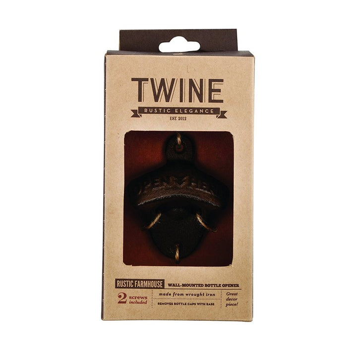 #14 Twine Rustic Wall bottle opener