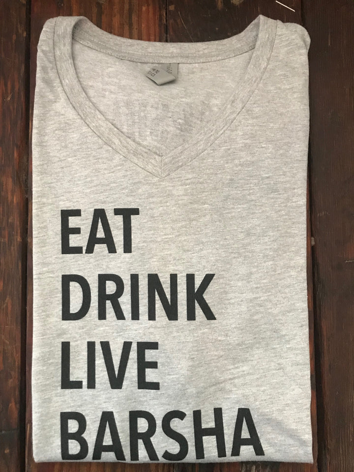 T-shirt EATDRINKLIVEBARSHA