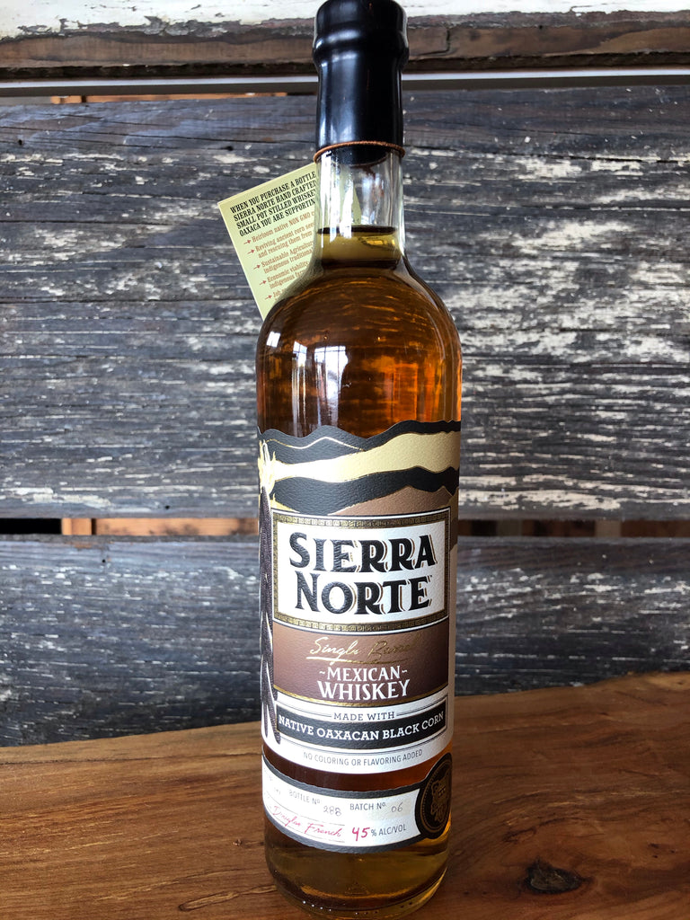 Sierra Norte Mexican Whiskey