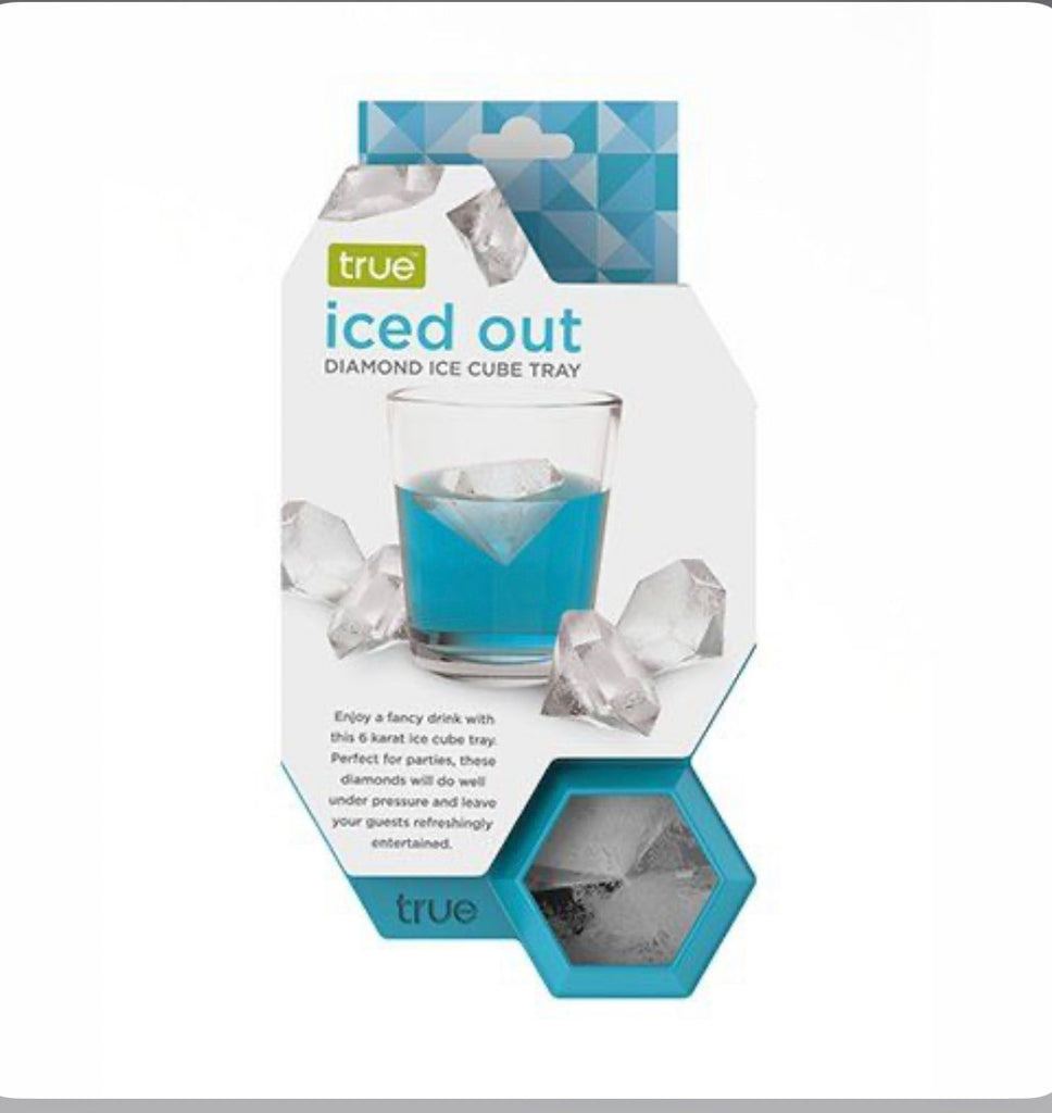 iced out dimond ice cube tray