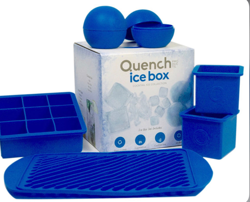 Quench ice box