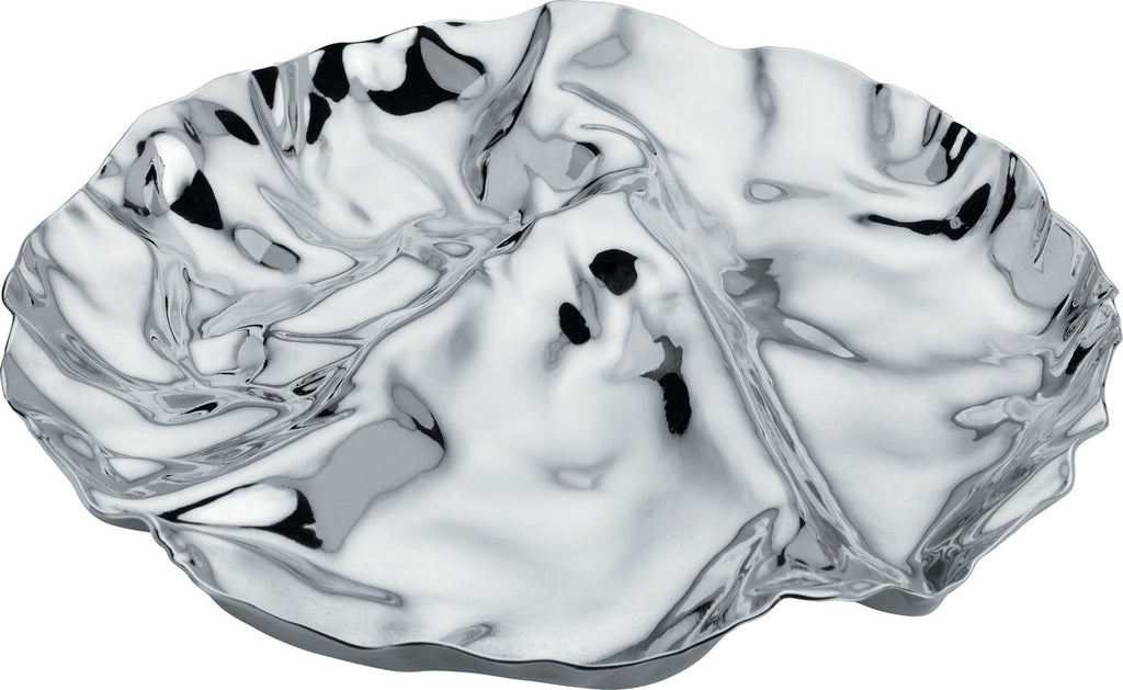 Alessi, Pepa, Hor D'oeuvres tray, stainless steel, tray, designer Lluis Clotet, serving tray